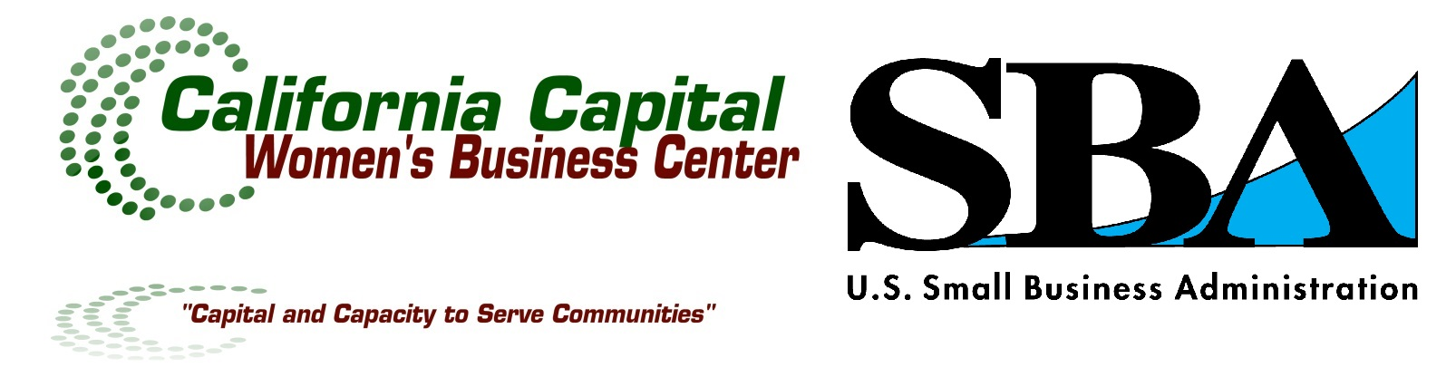 California Capital Women's Business Center and US Small Business Administration Logos