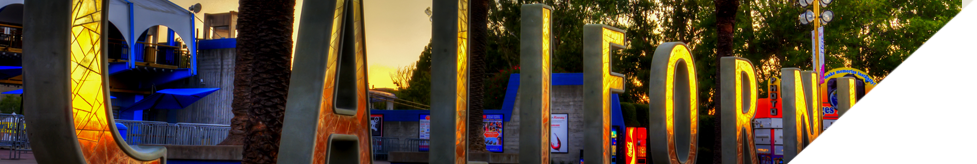 Banner image of a California sign