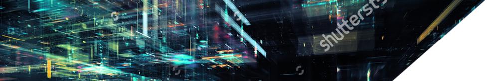 Banner image of blue data screen.