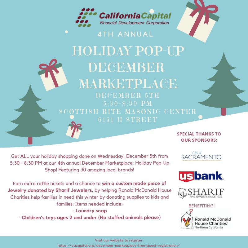 California Capital Financial Development Corp Sacramento Ca