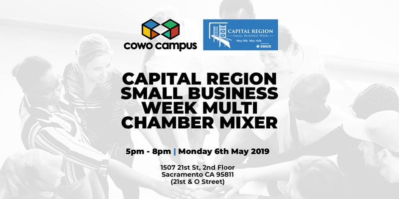 Capital Region Small Business Week Multi- Chamber Mixer at